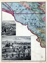 Map 010, Redwood, Almaden, Llagas, Uvas, Gilroy, Adams, Live Oak, Santa Clara County 1876